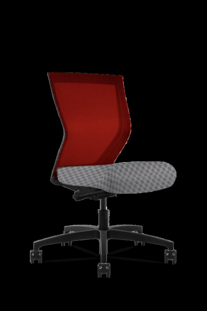 Run II High Back Red Frame Office Chair - Modern Office Furniture