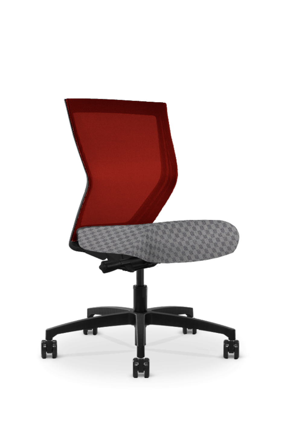 Run II High Back Red Frame Office Chair - Modern Office Furniture