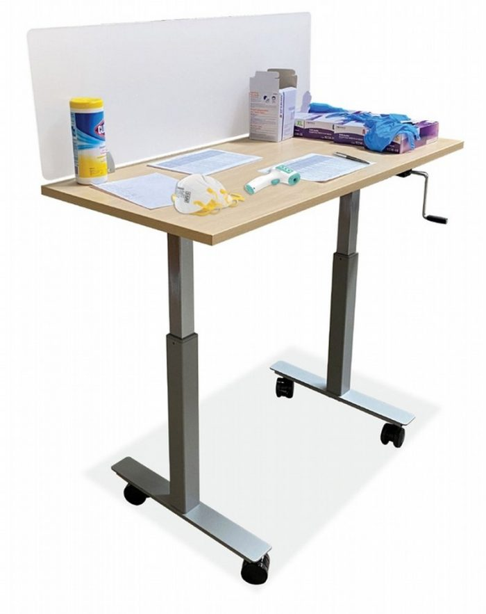 Small rolling table - Collaborative Office Interiors