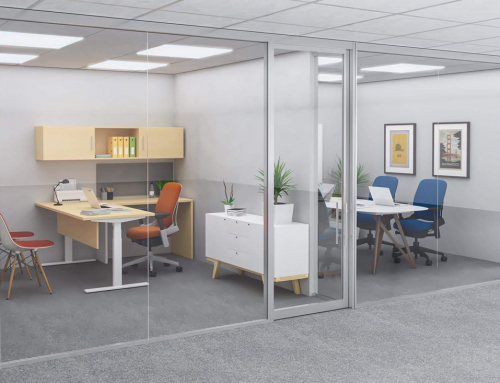 Glass Walls Offer A Quick Change Option For Office Reconfiguration