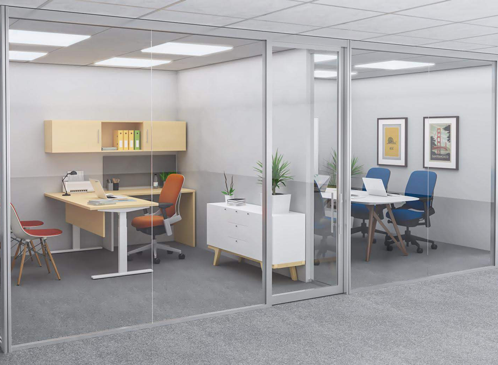 Office wall systems | Collaborative Office Interiors