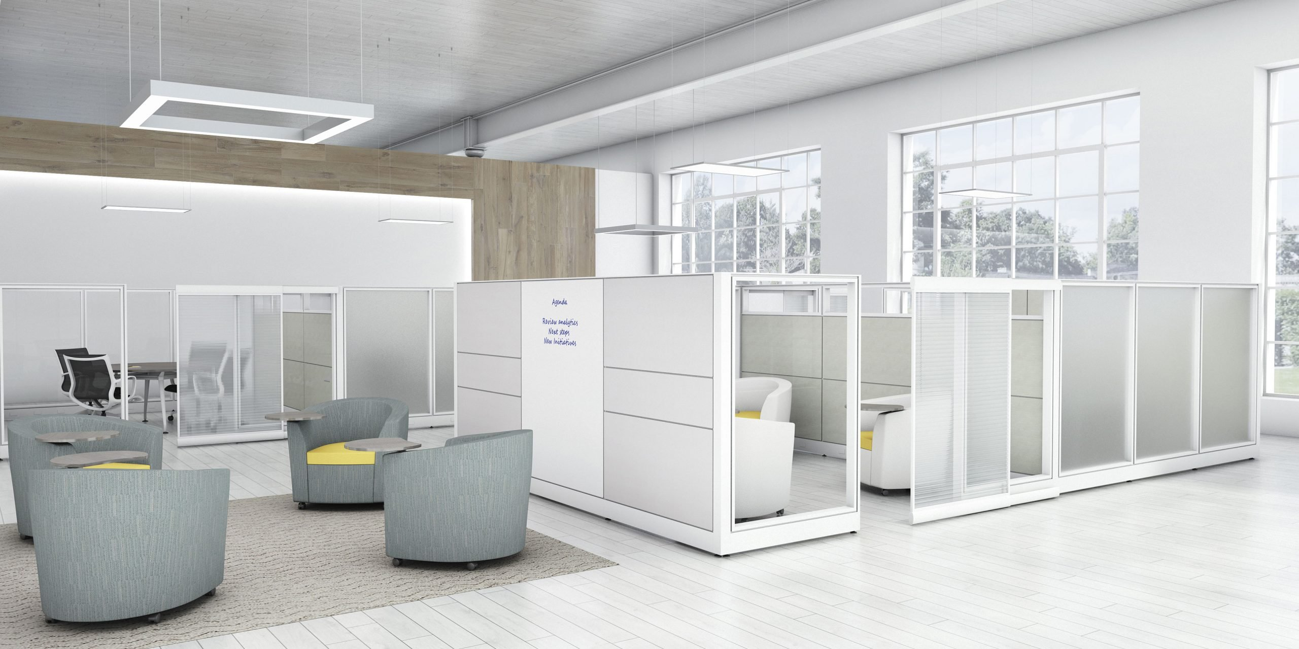 modern cubicle panels