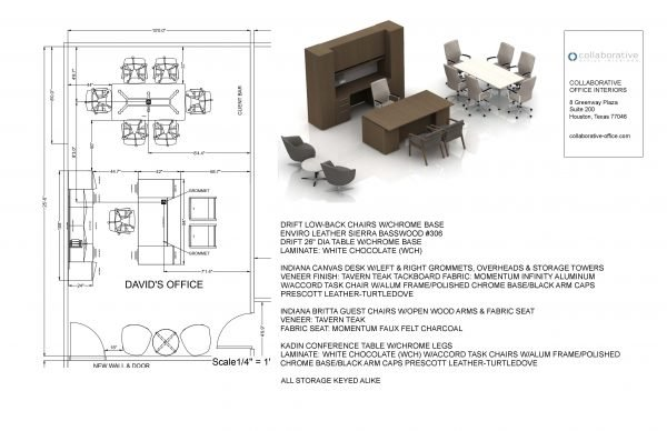 example of an office space plan